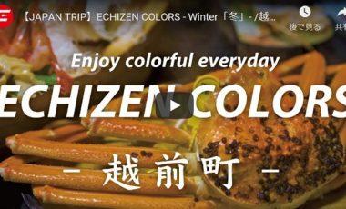 【福井県越前町③ 観光プロモーション動画】『JAPAN TRIP』ECHIZEN COLORS- Winter「冬」-
