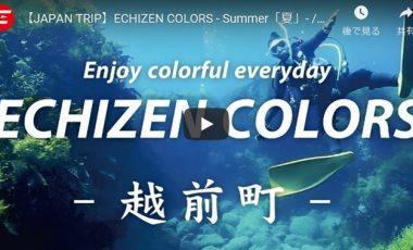 【福井県越前町 観光プロモーション動画】『JAPAN TRIP』ECHIZEN COLORS – Summer「夏」-